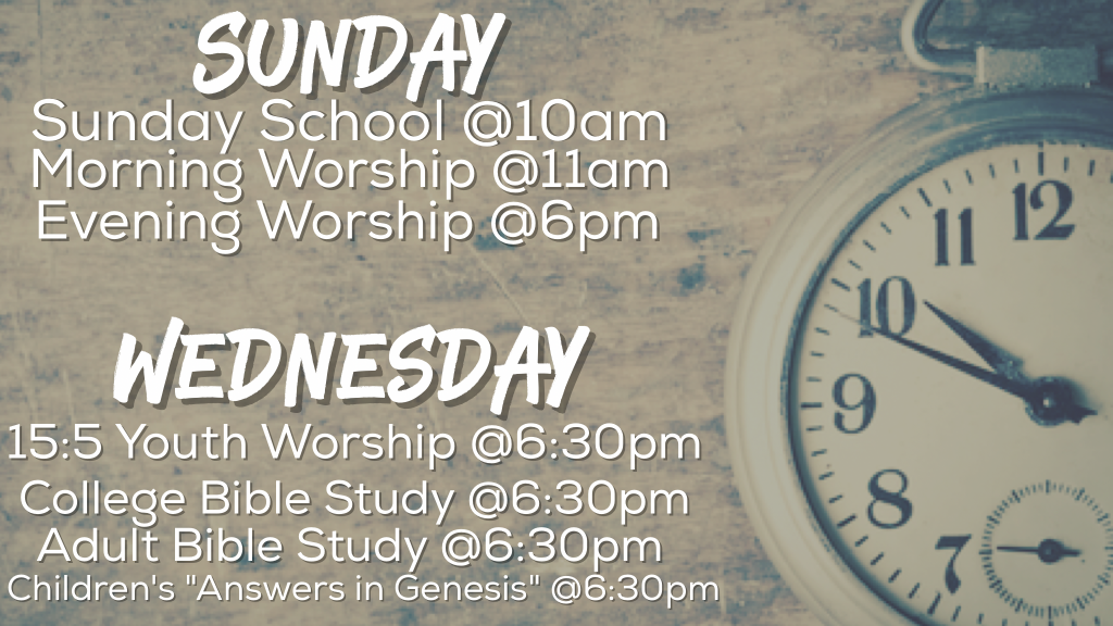 Directions and Worship Times